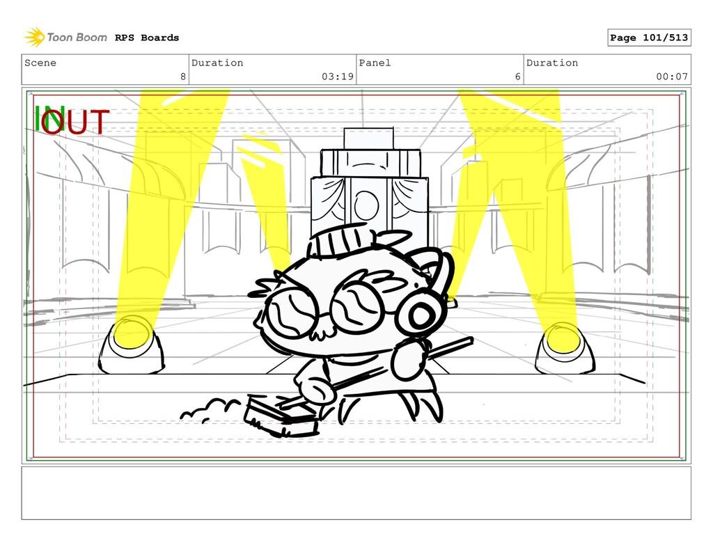 Scene 8 Duration 03:19 Panel 6 Duration 00:07 R...