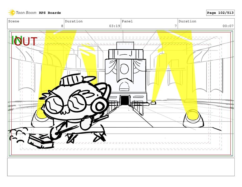 Scene 8 Duration 03:19 Panel 7 Duration 00:07 R...