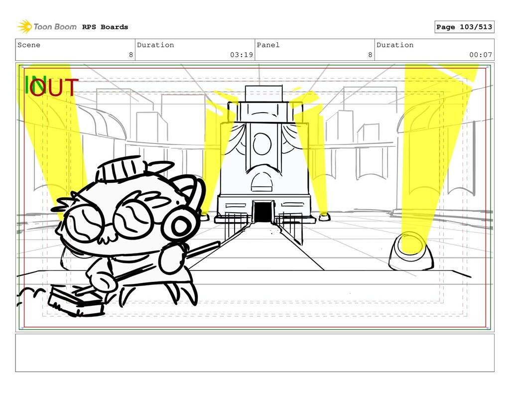 Scene 8 Duration 03:19 Panel 8 Duration 00:07 R...
