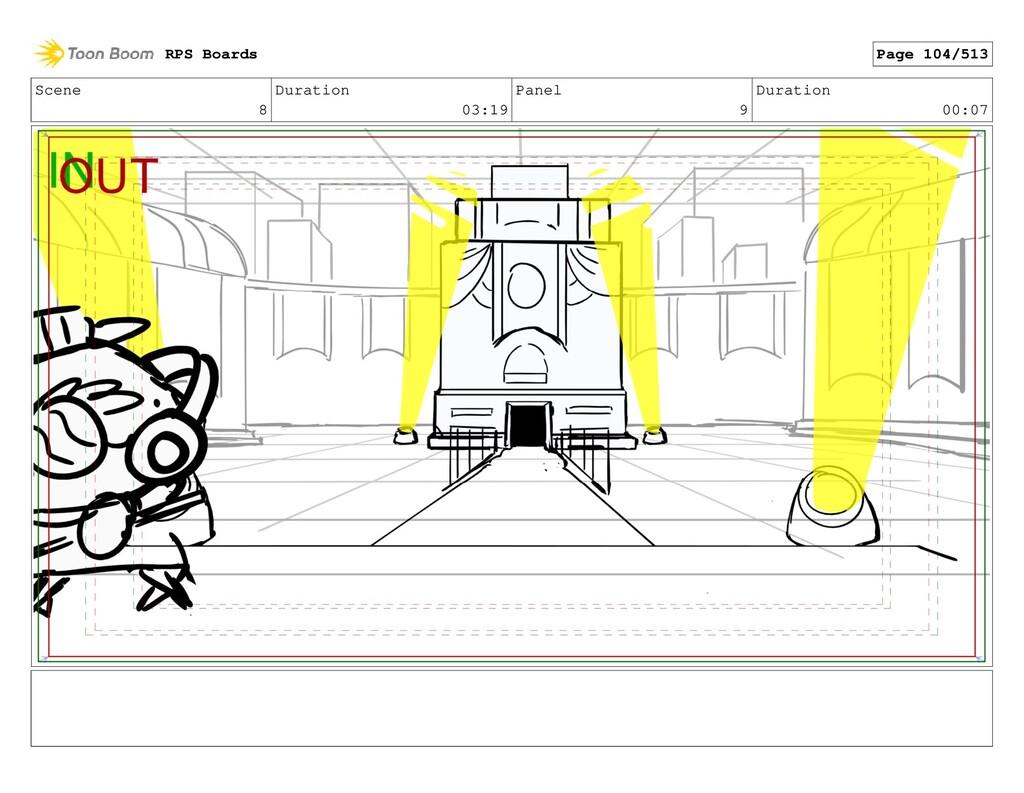 Scene 8 Duration 03:19 Panel 9 Duration 00:07 R...