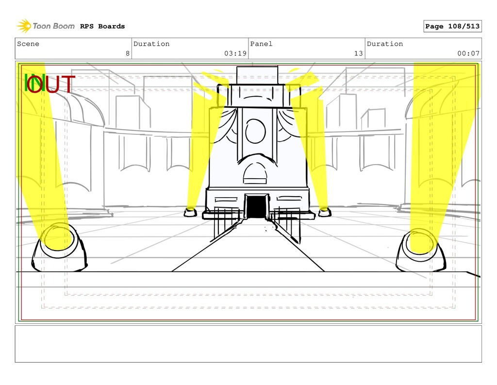Scene 8 Duration 03:19 Panel 13 Duration 00:07 ...