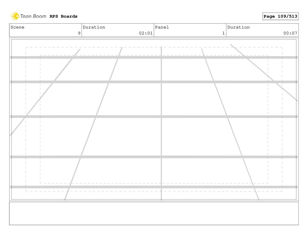 Scene 9 Duration 02:01 Panel 1 Duration 00:07 R...