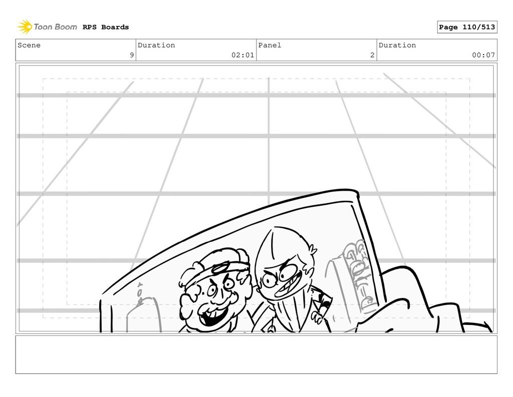 Scene 9 Duration 02:01 Panel 2 Duration 00:07 R...