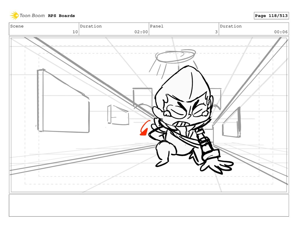 Scene 10 Duration 02:00 Panel 3 Duration 00:06 ...