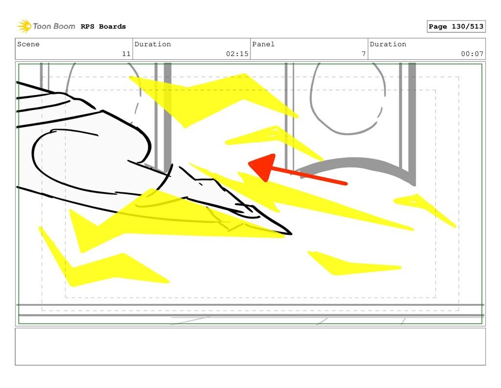 Scene 11 Duration 02:15 Panel 7 Duration 00:07 ...
