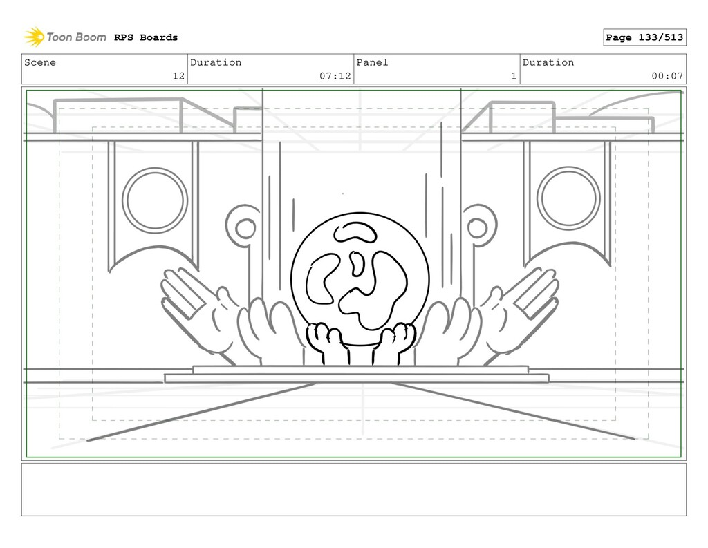 Scene 12 Duration 07:12 Panel 1 Duration 00:07 ...