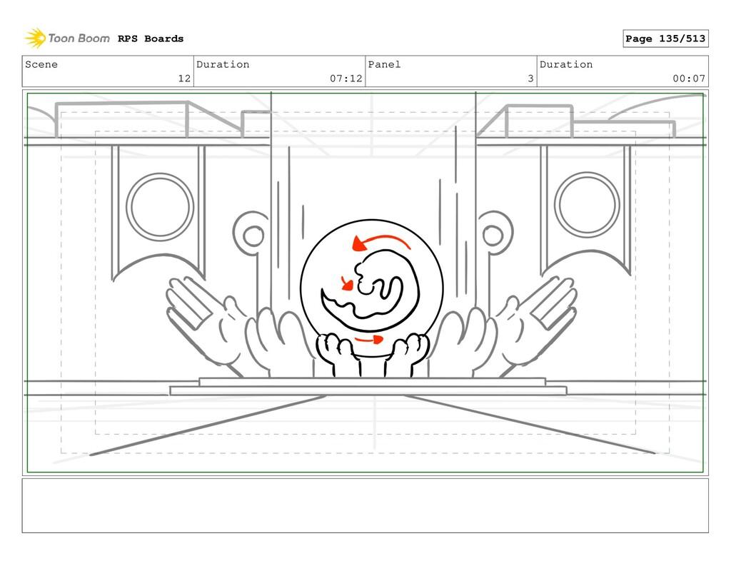 Scene 12 Duration 07:12 Panel 3 Duration 00:07 ...