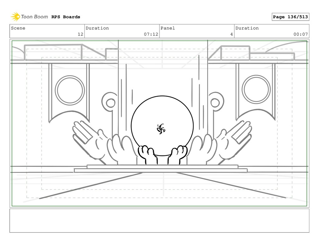 Scene 12 Duration 07:12 Panel 4 Duration 00:07 ...
