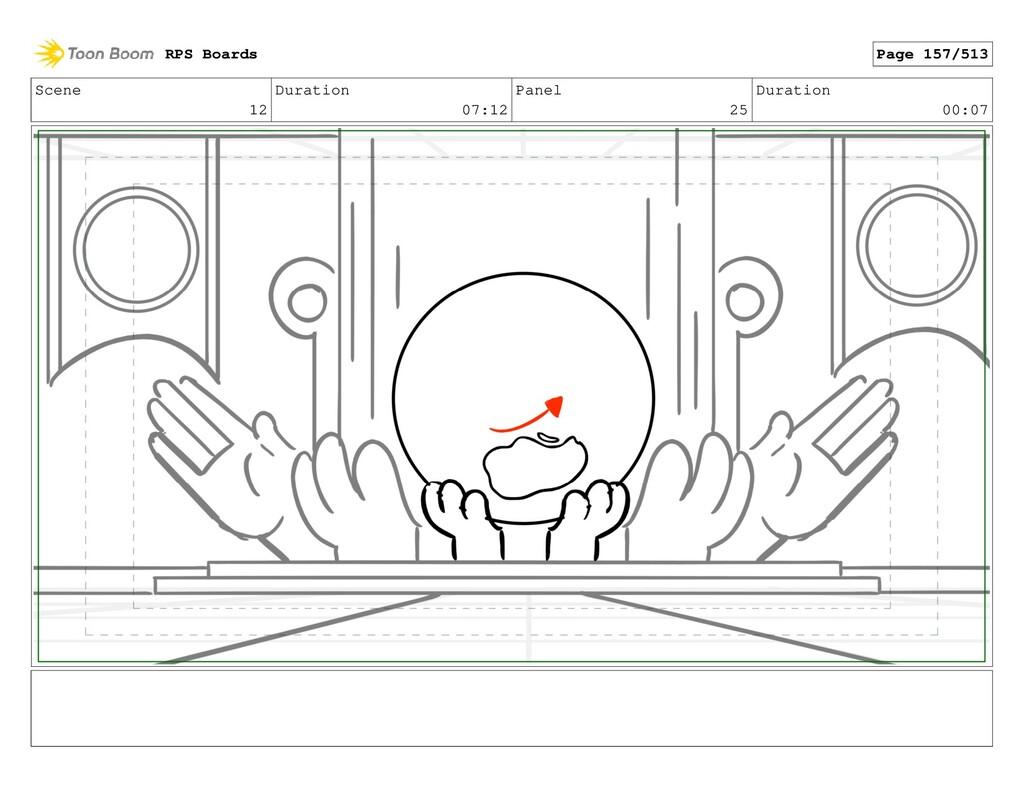 Scene 12 Duration 07:12 Panel 25 Duration 00:07...