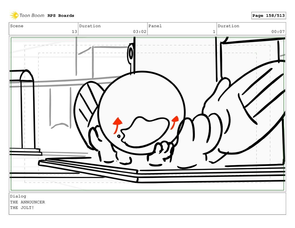 Scene 13 Duration 03:02 Panel 1 Duration 00:07 ...