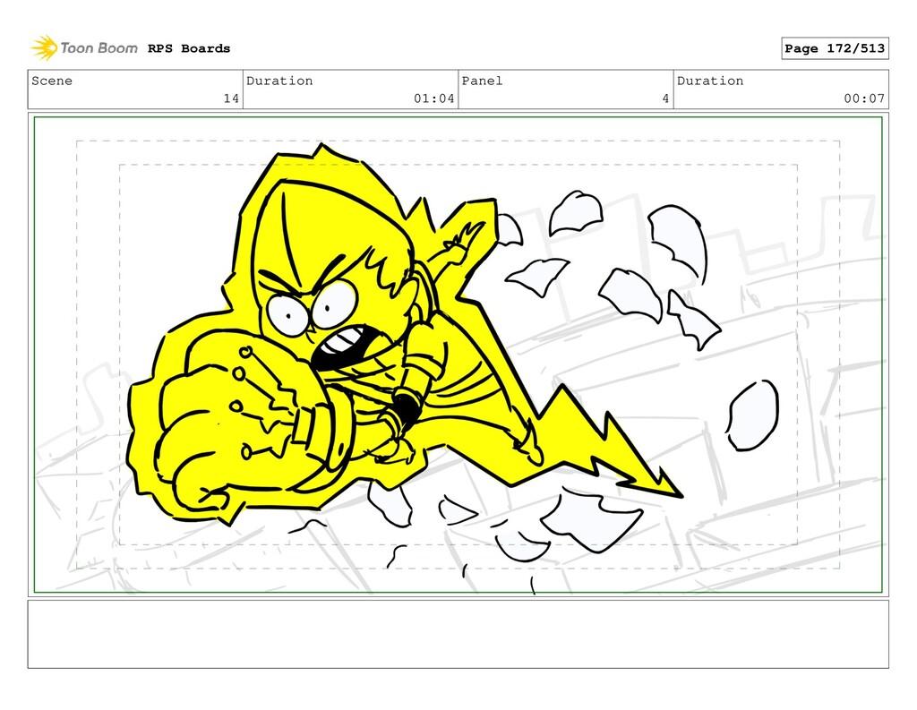 Scene 14 Duration 01:04 Panel 4 Duration 00:07 ...