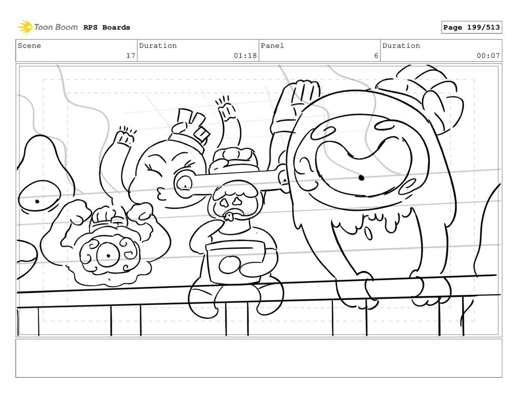 Scene 17 Duration 01:18 Panel 6 Duration 00:07 ...