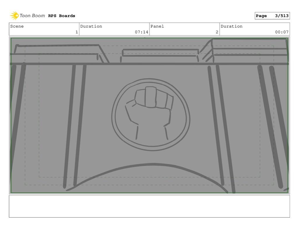 Scene 1 Duration 07:14 Panel 2 Duration 00:07 R...