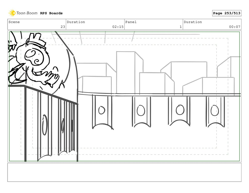 Scene 23 Duration 02:15 Panel 1 Duration 00:07 ...