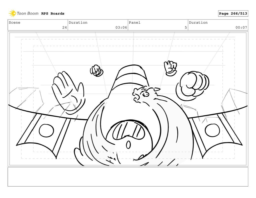 Scene 24 Duration 03:06 Panel 5 Duration 00:07 ...