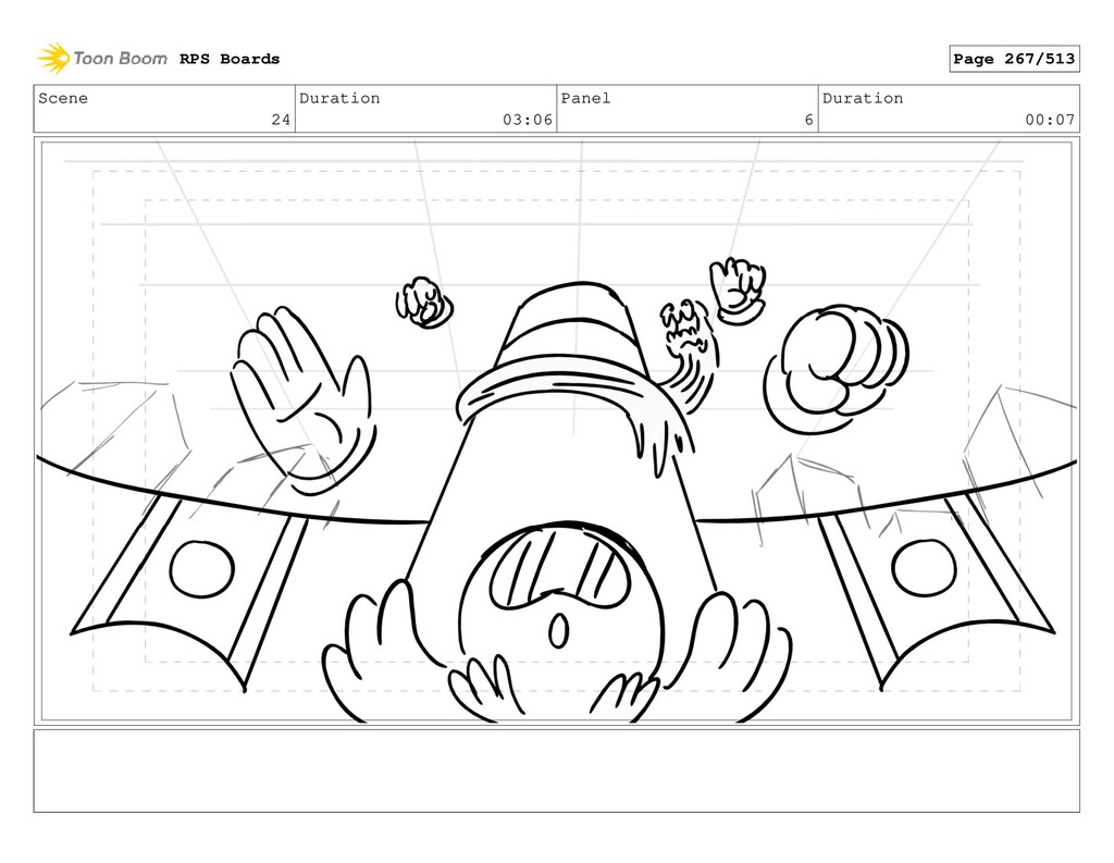 Scene 24 Duration 03:06 Panel 6 Duration 00:07 ...