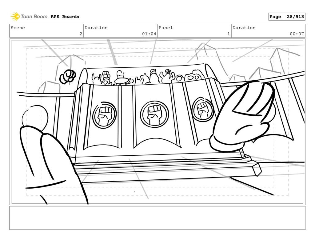 Scene 2 Duration 01:04 Panel 1 Duration 00:07 R...