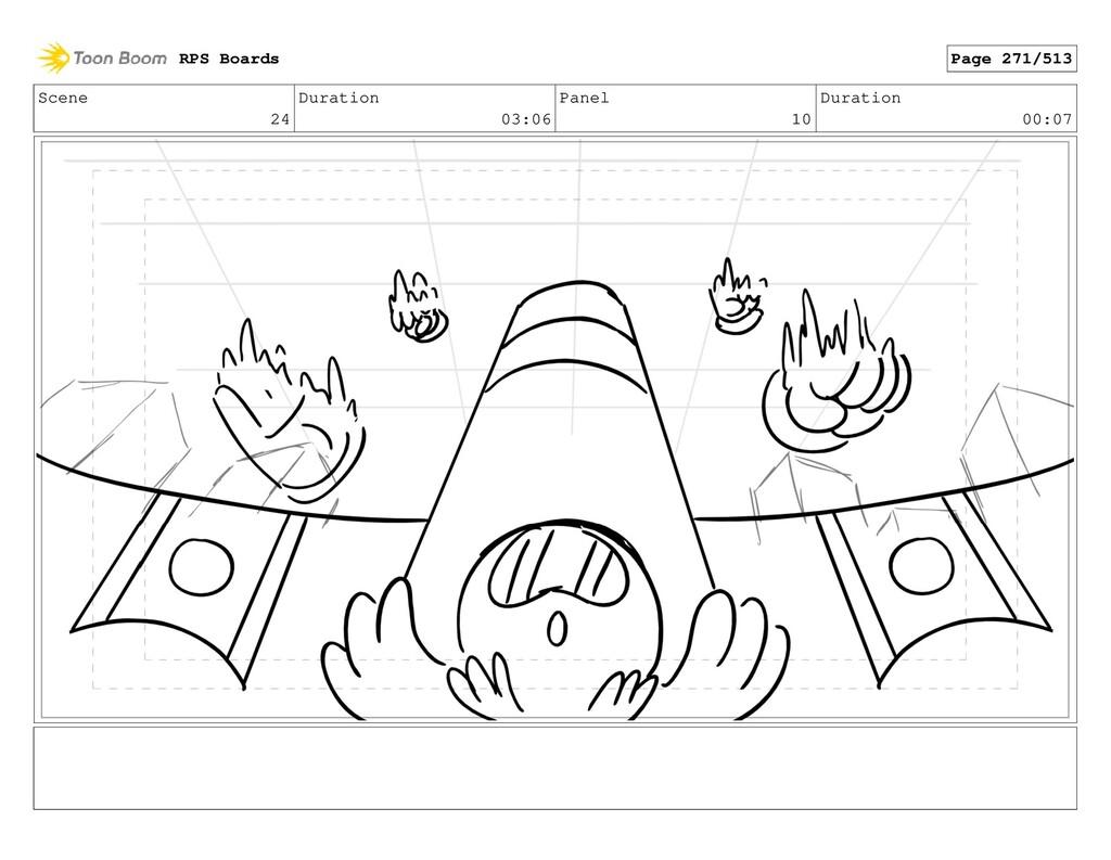 Scene 24 Duration 03:06 Panel 10 Duration 00:07...