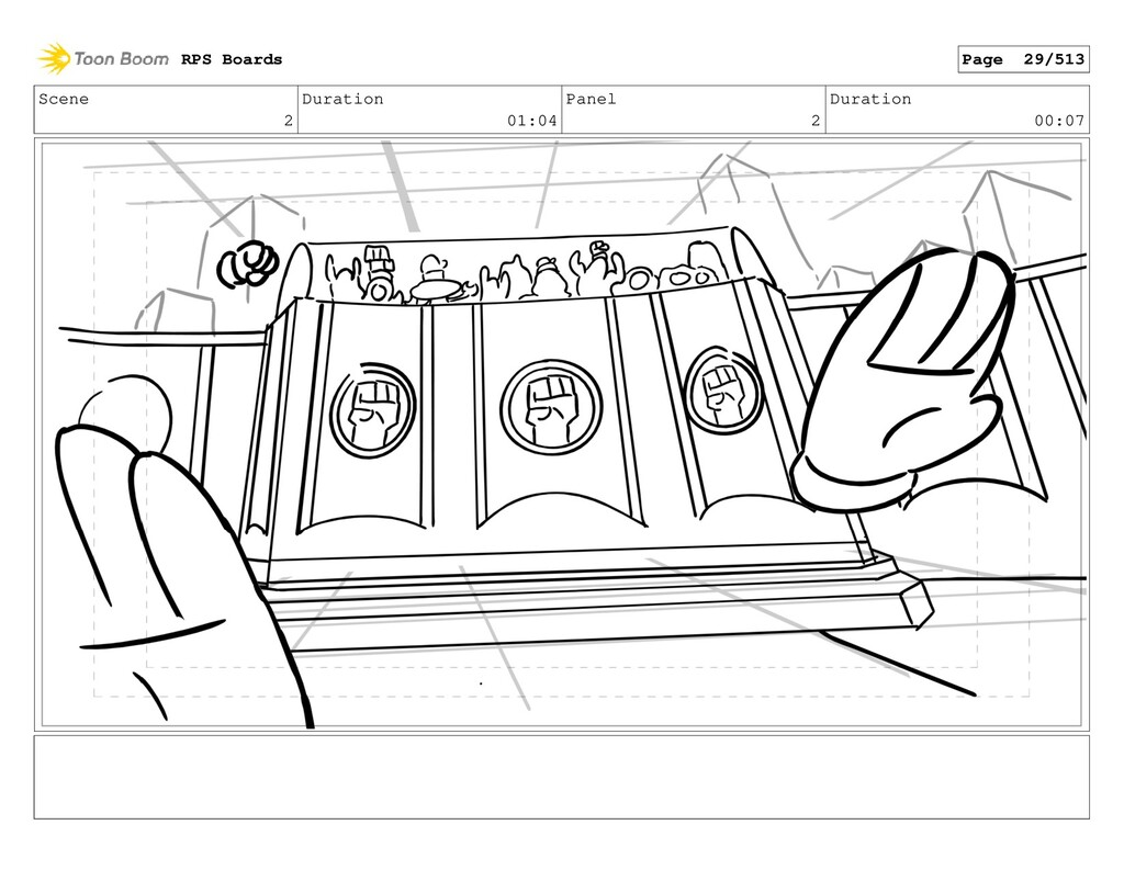 Scene 2 Duration 01:04 Panel 2 Duration 00:07 R...