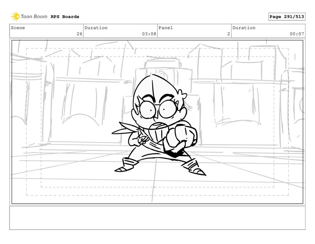Scene 26 Duration 03:08 Panel 2 Duration 00:07 ...