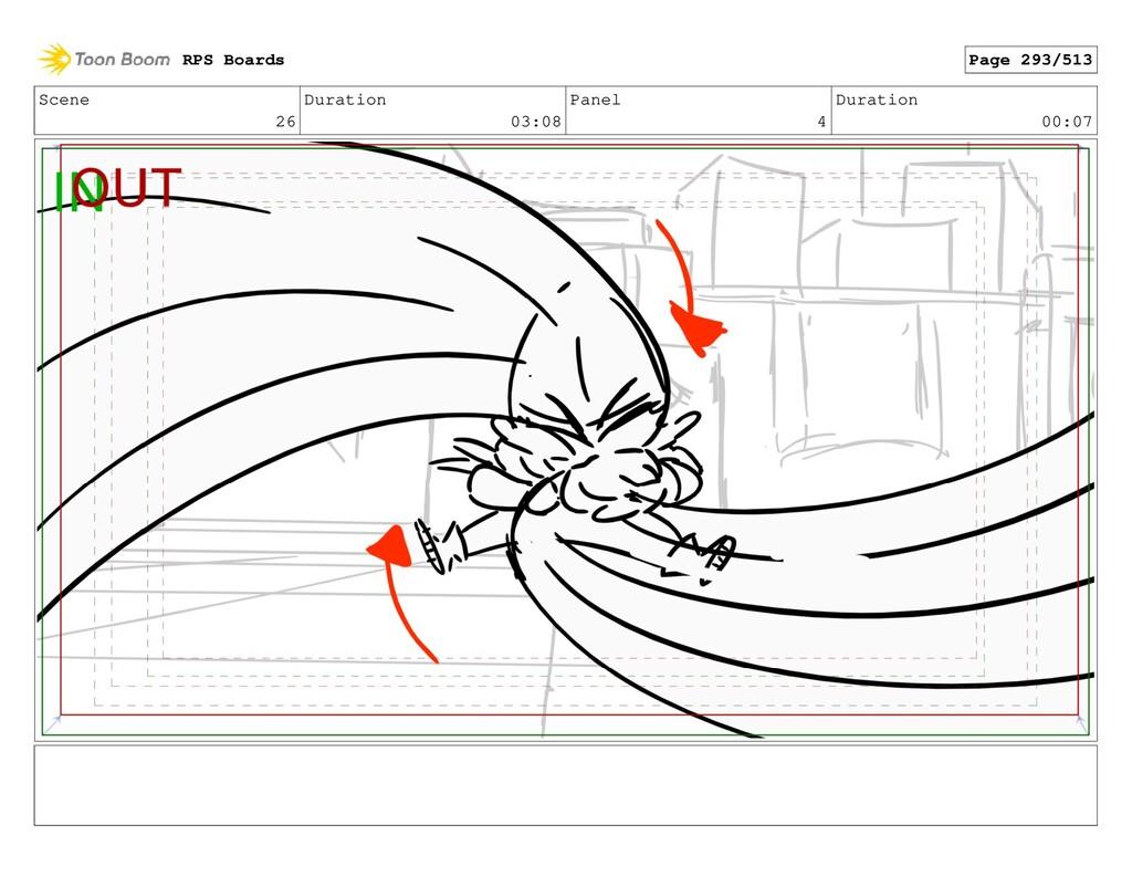 Scene 26 Duration 03:08 Panel 4 Duration 00:07 ...