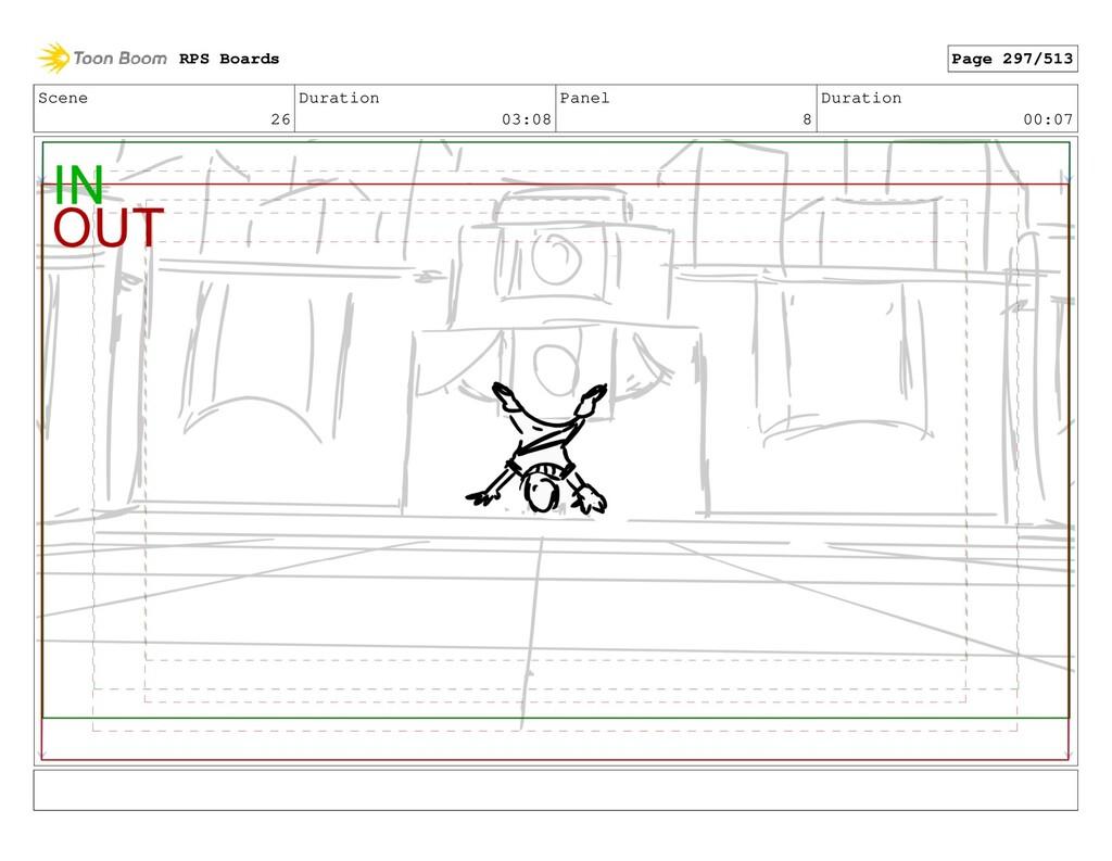 Scene 26 Duration 03:08 Panel 8 Duration 00:07 ...
