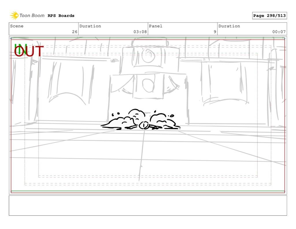 Scene 26 Duration 03:08 Panel 9 Duration 00:07 ...