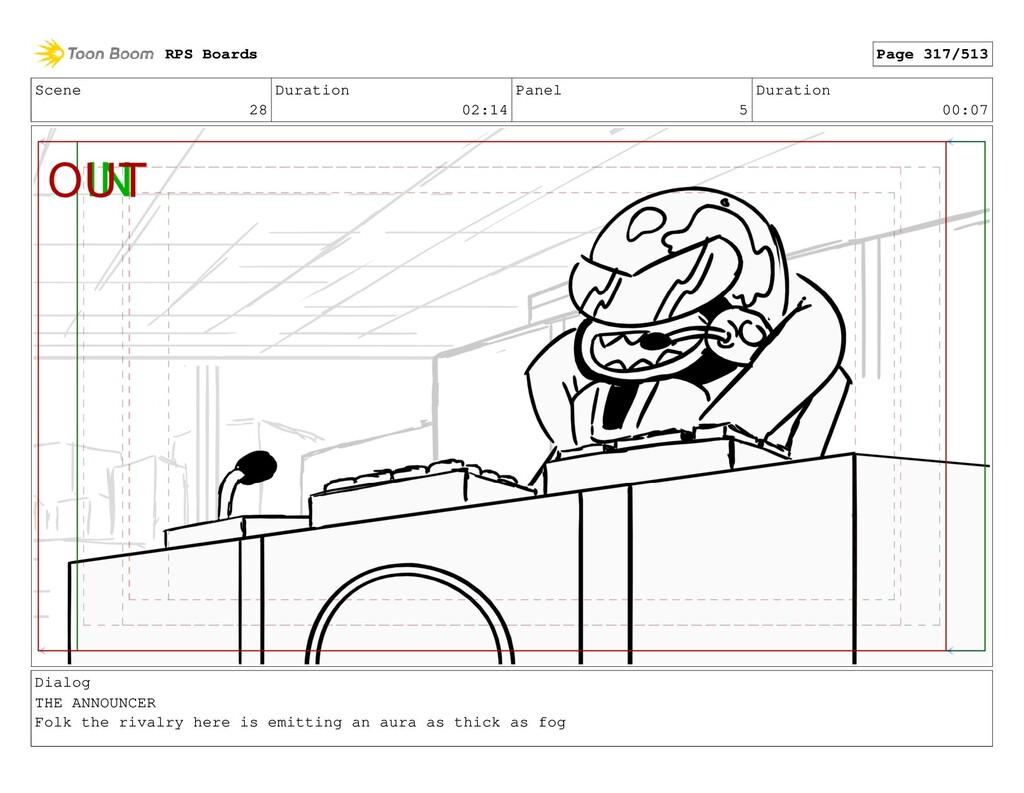 Scene 28 Duration 02:14 Panel 5 Duration 00:07 ...