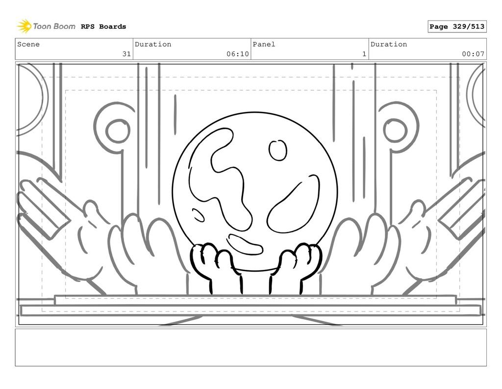 Scene 31 Duration 06:10 Panel 1 Duration 00:07 ...