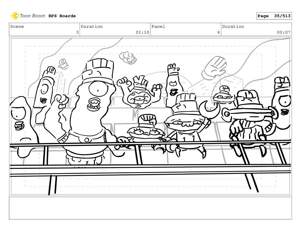 Scene 3 Duration 01:10 Panel 4 Duration 00:07 R...