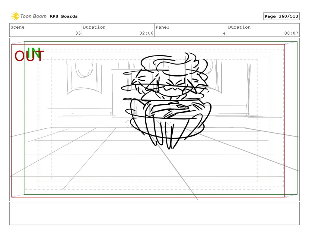 Scene 33 Duration 02:06 Panel 4 Duration 00:07 ...