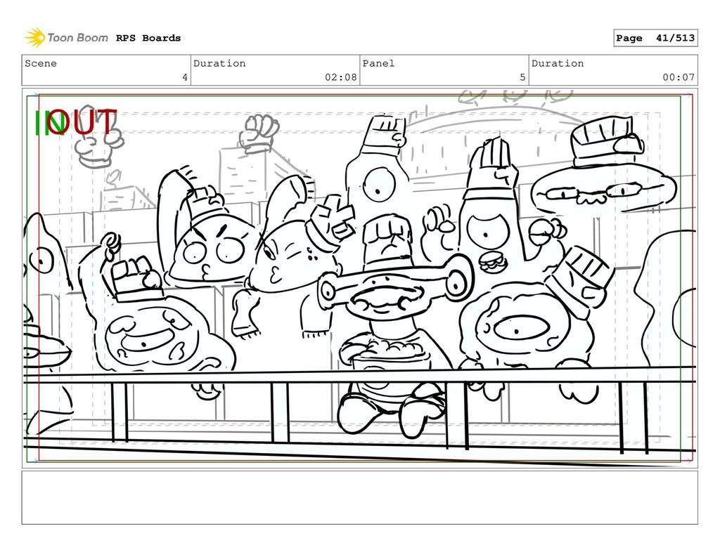 Scene 4 Duration 02:08 Panel 5 Duration 00:07 R...