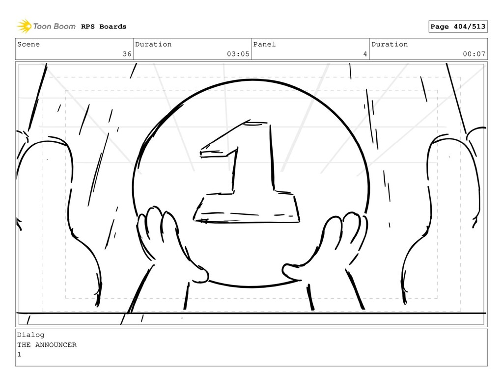 Scene 36 Duration 03:05 Panel 4 Duration 00:07 ...