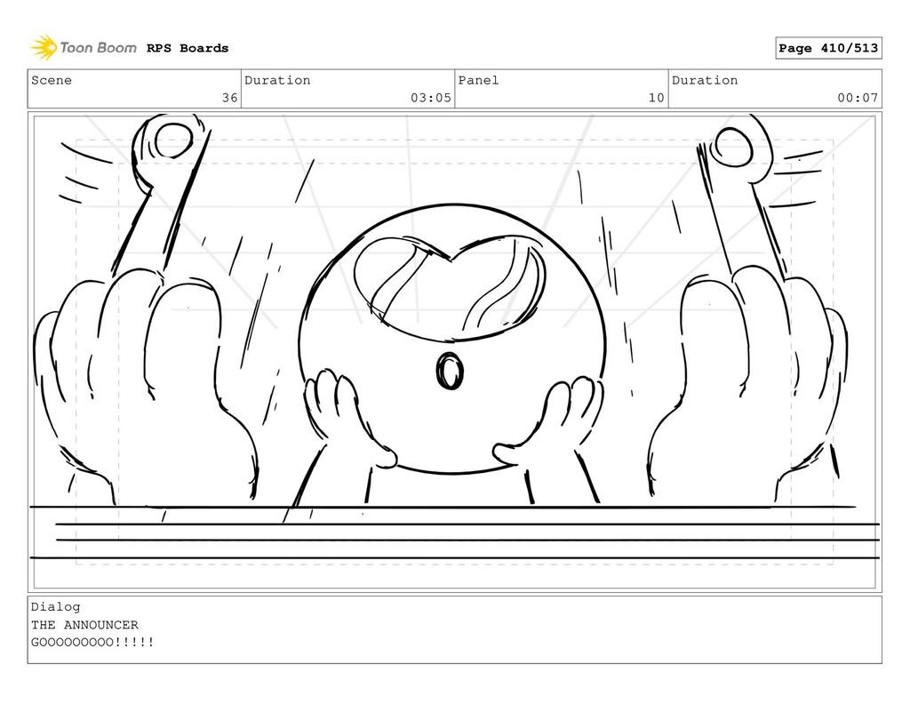 Scene 36 Duration 03:05 Panel 10 Duration 00:07...