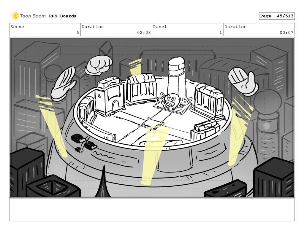 Scene 5 Duration 02:08 Panel 1 Duration 00:07 R...