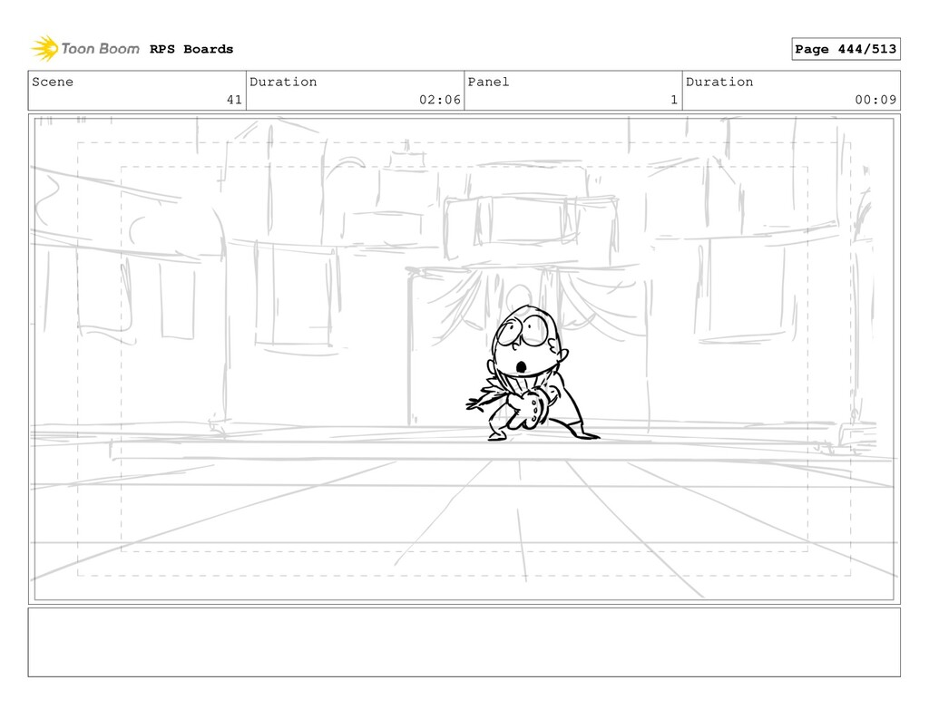 Scene 41 Duration 02:06 Panel 1 Duration 00:09 ...