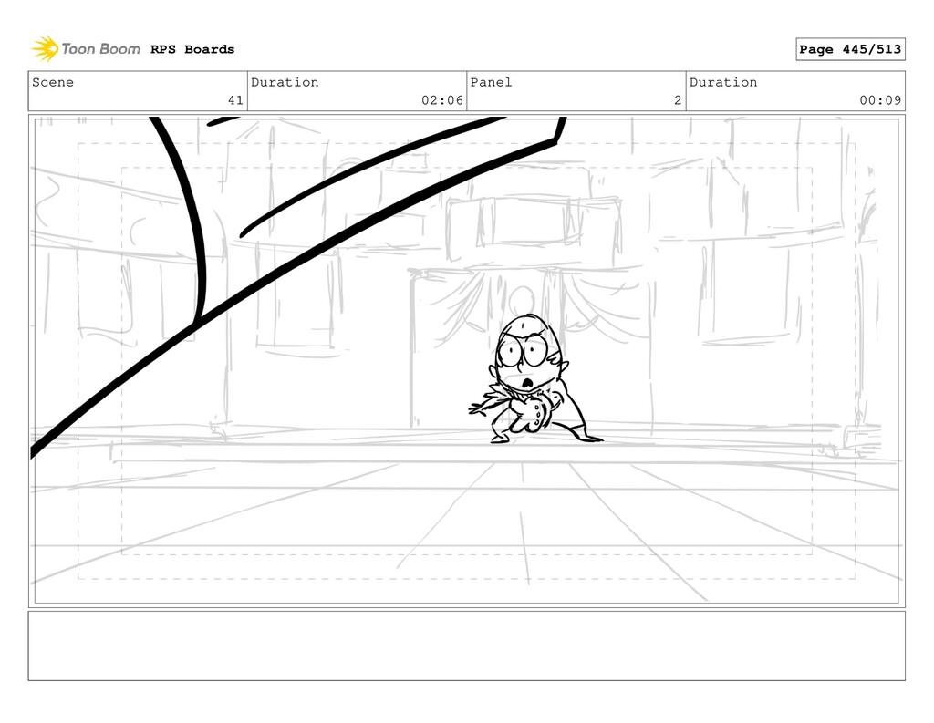 Scene 41 Duration 02:06 Panel 2 Duration 00:09 ...