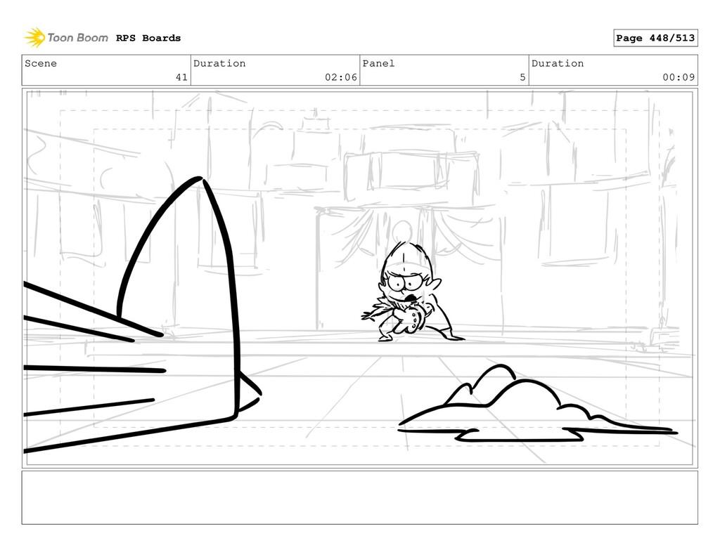 Scene 41 Duration 02:06 Panel 5 Duration 00:09 ...