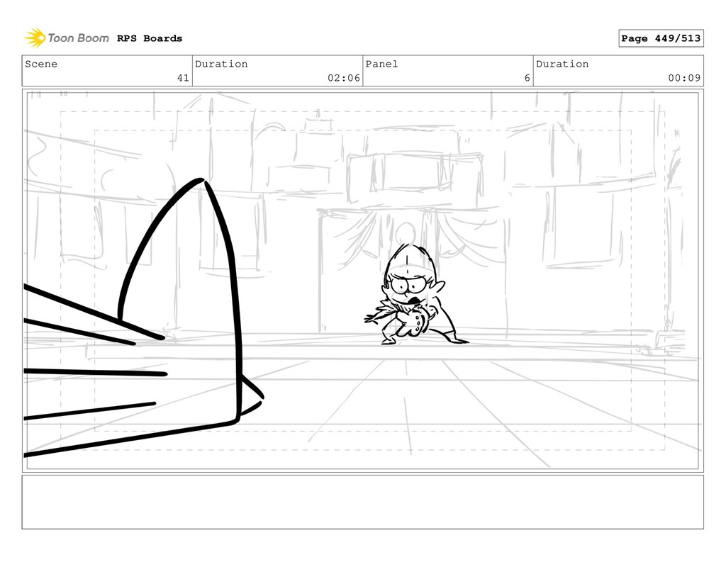 Scene 41 Duration 02:06 Panel 6 Duration 00:09 ...