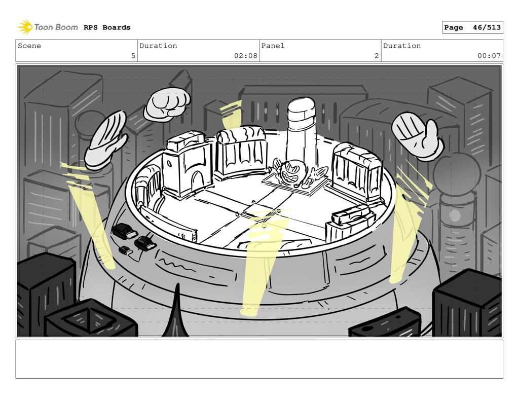 Scene 5 Duration 02:08 Panel 2 Duration 00:07 R...