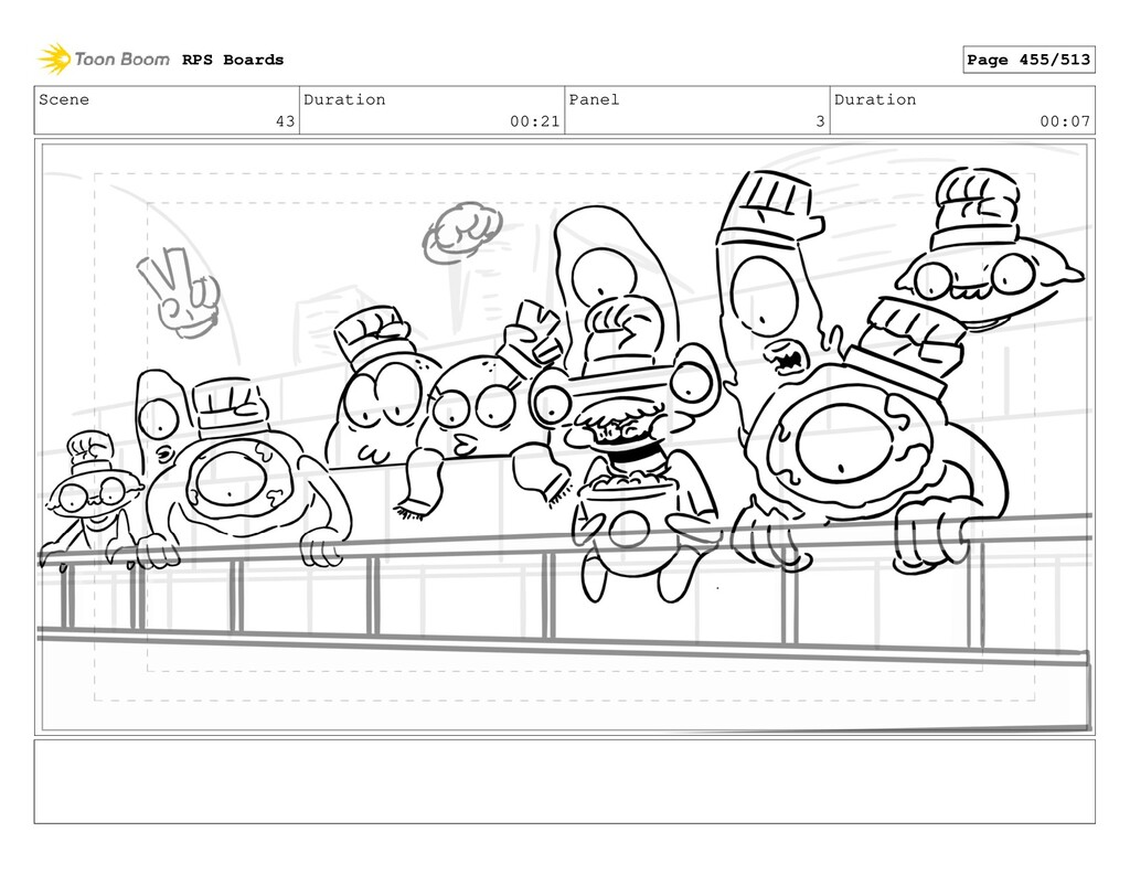 Scene 43 Duration 00:21 Panel 3 Duration 00:07 ...