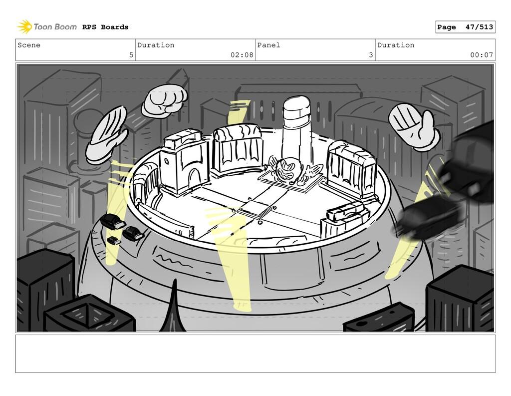 Scene 5 Duration 02:08 Panel 3 Duration 00:07 R...