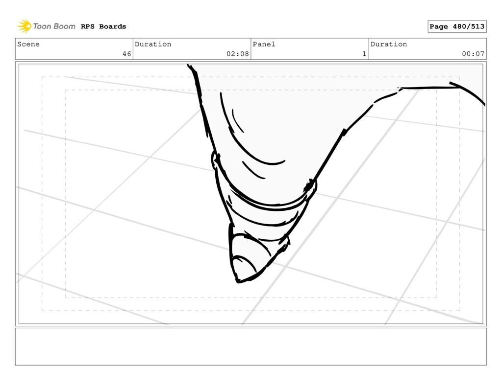 Scene 46 Duration 02:08 Panel 1 Duration 00:07 ...