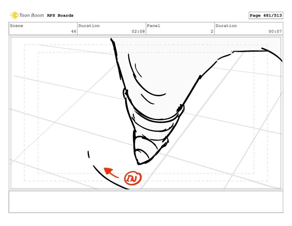 Scene 46 Duration 02:08 Panel 2 Duration 00:07 ...