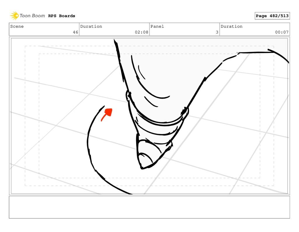 Scene 46 Duration 02:08 Panel 3 Duration 00:07 ...