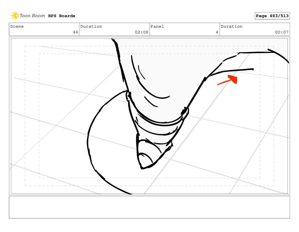 Scene 46 Duration 02:08 Panel 4 Duration 00:07 ...