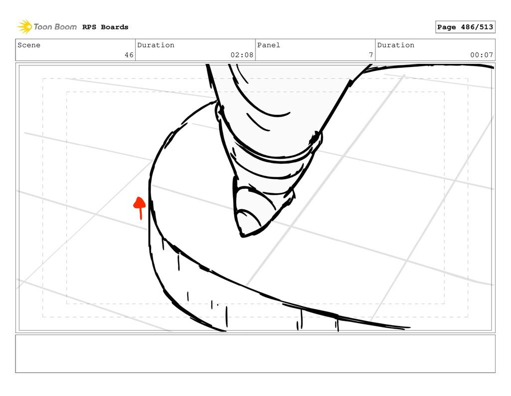 Scene 46 Duration 02:08 Panel 7 Duration 00:07 ...