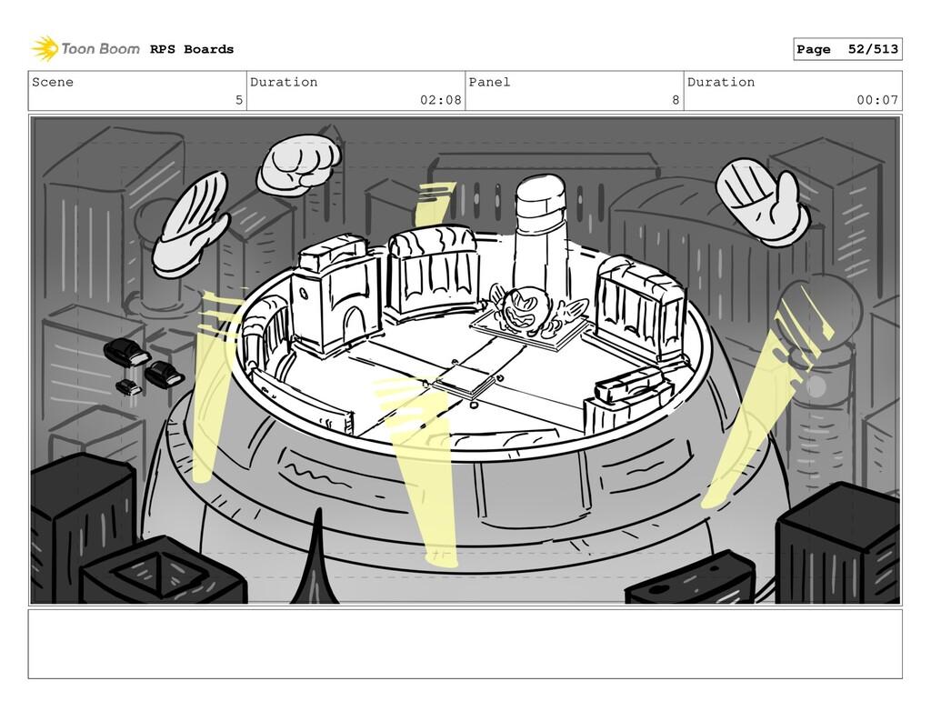 Scene 5 Duration 02:08 Panel 8 Duration 00:07 R...