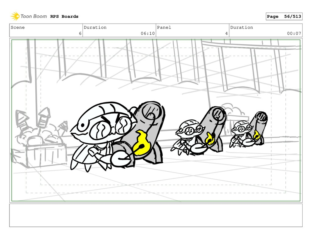 Scene 6 Duration 06:10 Panel 4 Duration 00:07 R...
