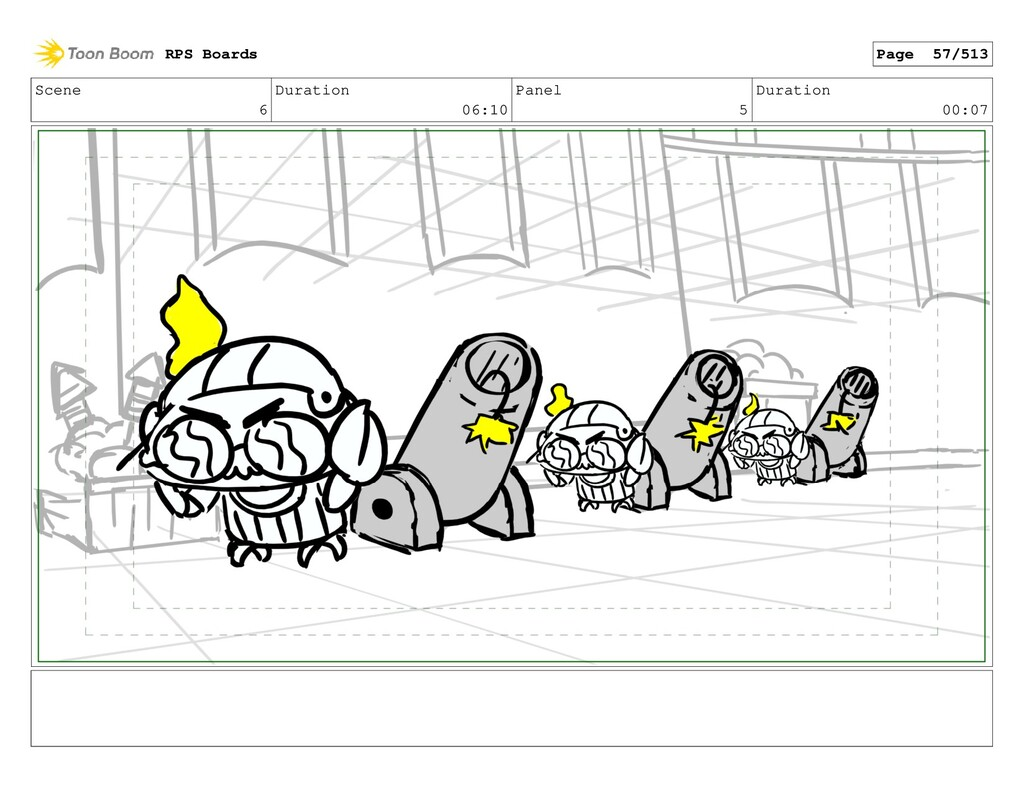 Scene 6 Duration 06:10 Panel 5 Duration 00:07 R...